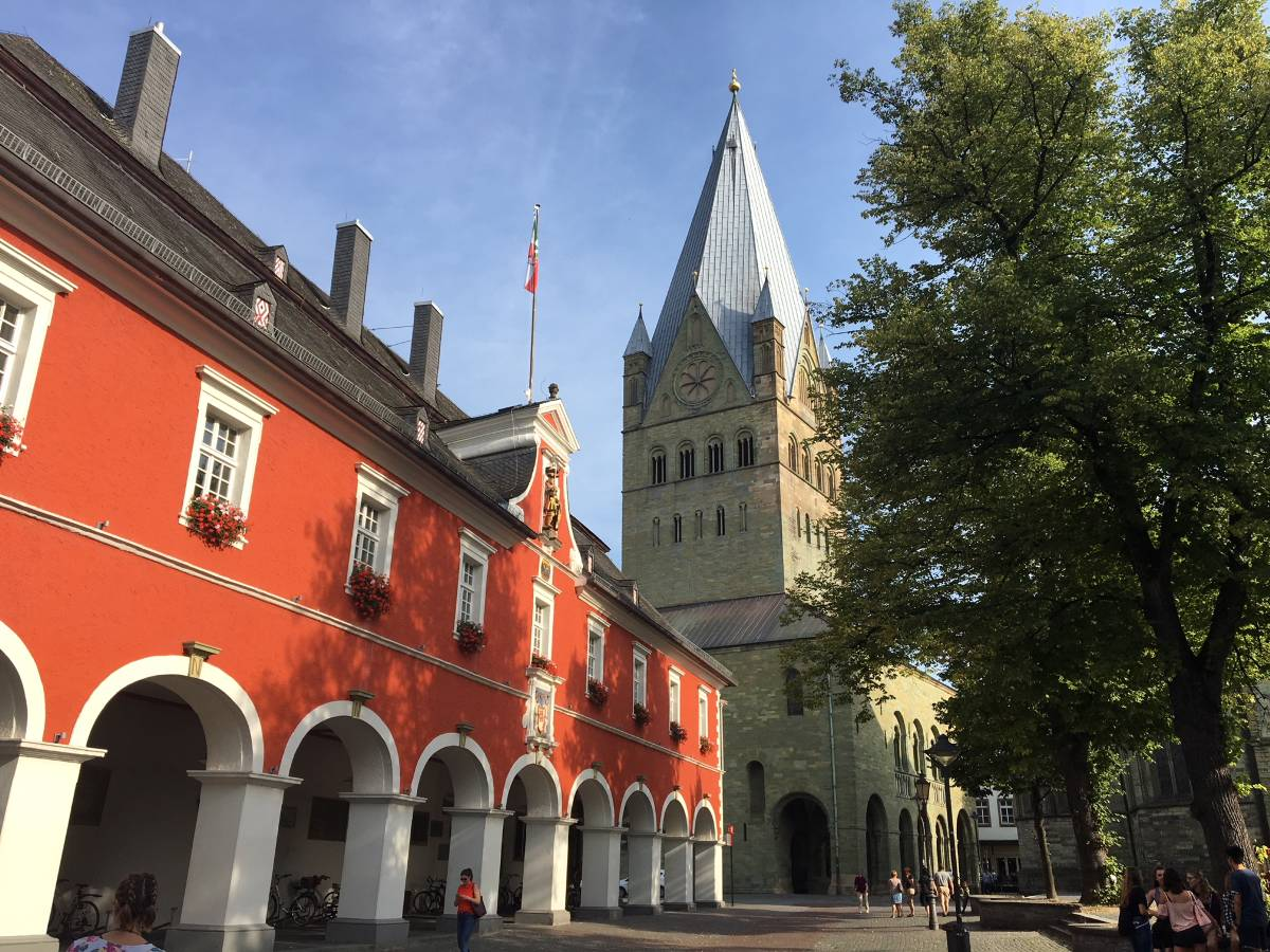 Soester Rathaus & Dom